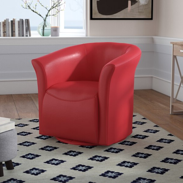 Artressia Barrel Chairs Within Best And Newest Narrow Sleeper Chair (View 14 of 30)
