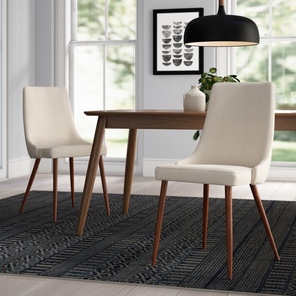 Avenue Six Dining Chairs Pertaining To Current Madison Avenue Tufted Cotton Upholstered Dining Chairs (set Of 2) (View 7 of 30)