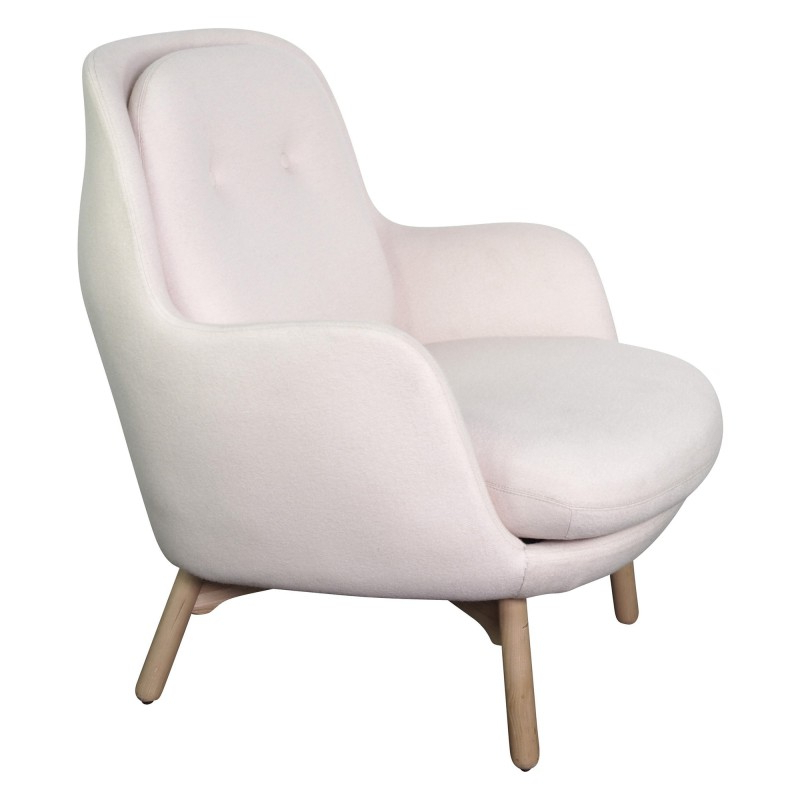 Baby Suki Fabric Armchair, Nude In Trendy Suki Armchairs (View 24 of 30)
