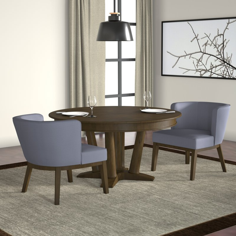 Barnard Polyester Barrel Chairs With Newest Barnard Barrel Chair (View 11 of 30)