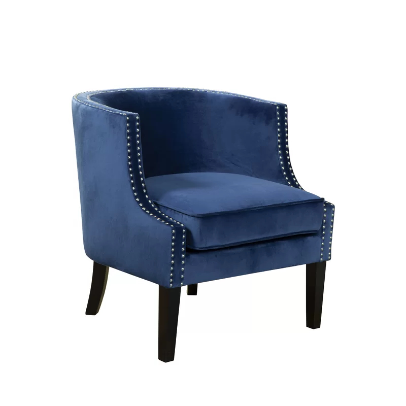 Barrel Chair, Accent Chairs, Alpine (View 25 of 30)