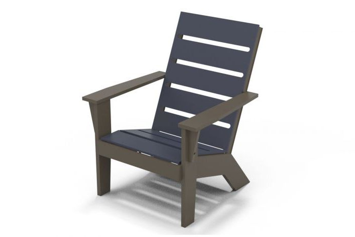 Beachwood Arm Chairs With Regard To Well Known Hudson Mgp Adirondack Arm Chair 2h (View 4 of 30)
