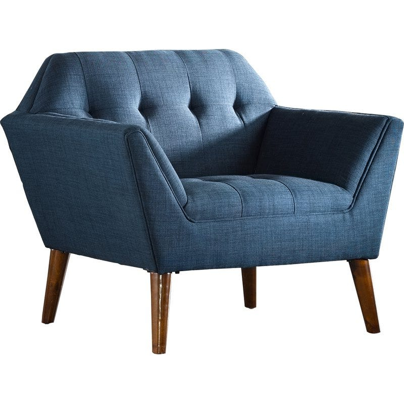 Belz Armchair Intended For Fashionable Belz Tufted Polyester Armchairs (View 9 of 30)