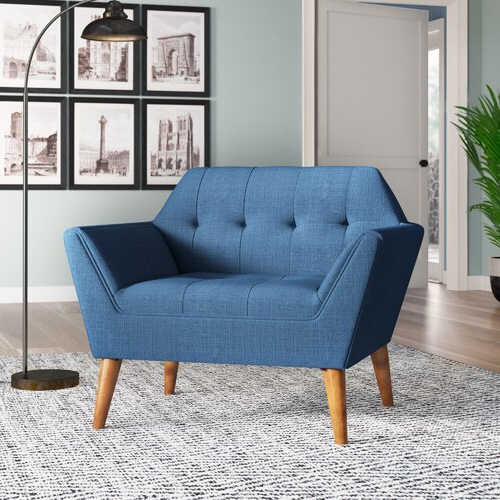 Belz Tufted Polyester Armchairs For Well Liked Calla 3 Piece Living Room Set (View 18 of 30)