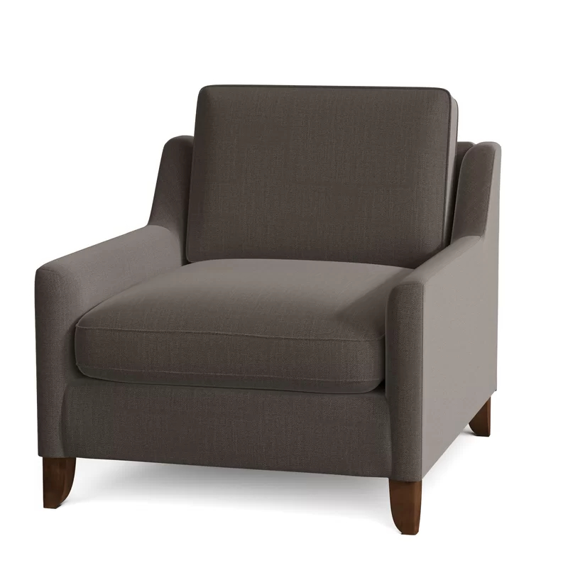 Bernardston Armchairs Intended For Best And Newest Wayfair Custom Upholstery™ Haleigh Armchair & Reviews (View 3 of 30)