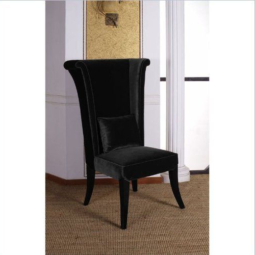 Bernardston Armchairs Intended For Preferred Armen Living Mad Hatter Dining Chair In Blackarmen (View 13 of 30)