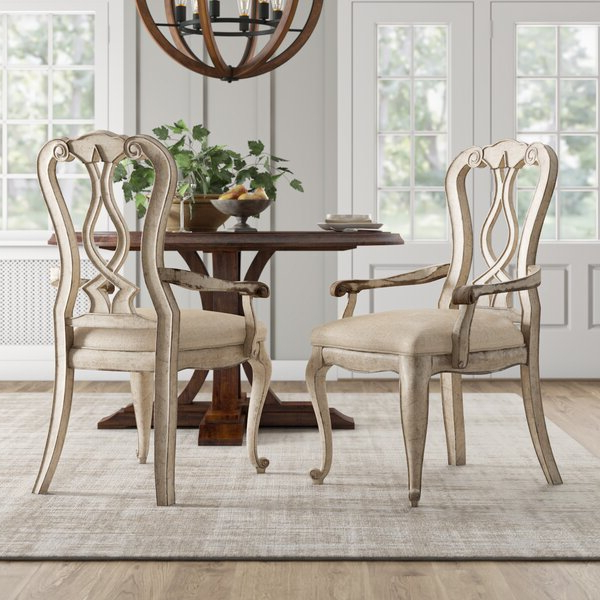 Best And Newest Aaliyah Parsons Chairs Within Chatelet Solid Wood Dining Chair (View 14 of 30)
