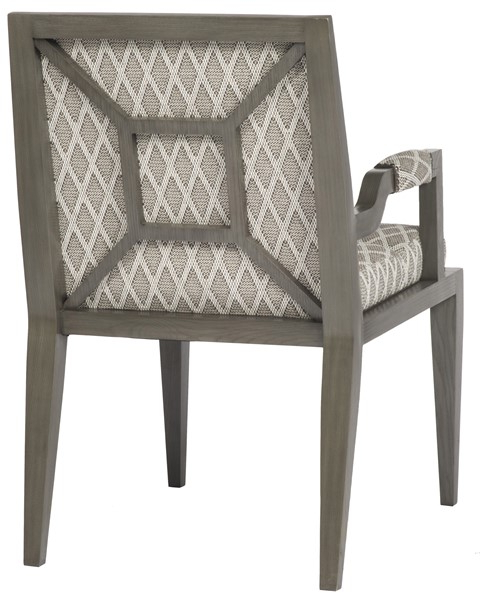 Best And Newest Armory Fabric Armchairs Within Armory Square Arm Chair 9712a – Our Products – Vanguard (View 14 of 30)