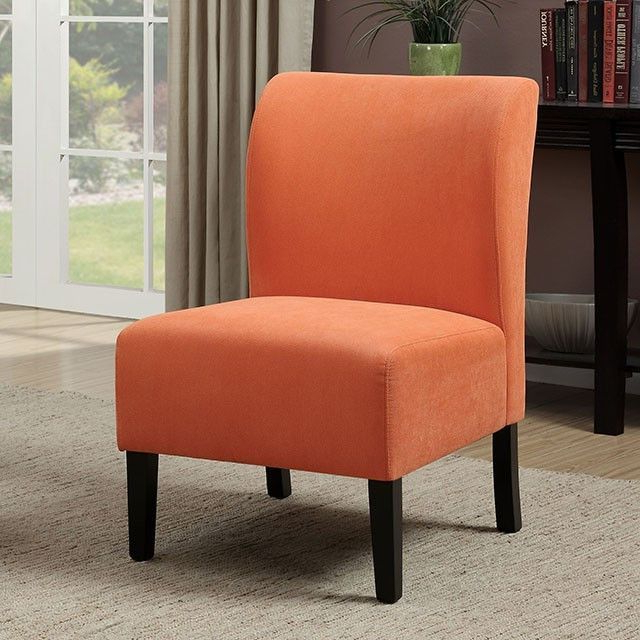 Best And Newest Bree Orange Accent Chair – Cm Ac6432or (View 10 of 30)