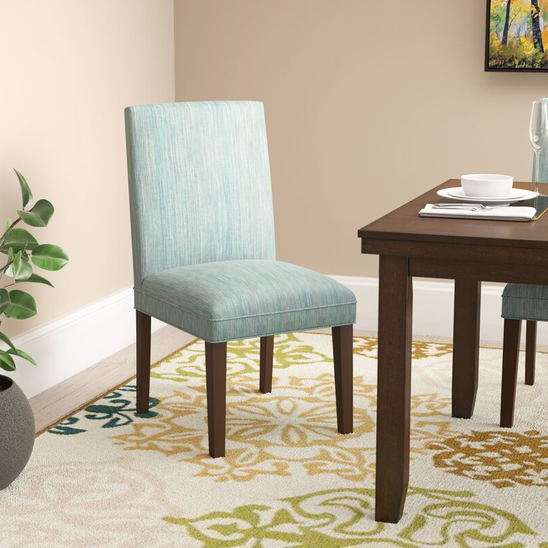 Best And Newest Calahan Parsons Upholstered Dining Chair With Aaliyah Parsons Chairs (View 12 of 30)