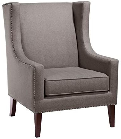 Best And Newest Chagnon Wingback Chairs Regarding Amazon: Tanya Chagnon Wingback Chair: Kitchen & Dining (View 3 of 30)