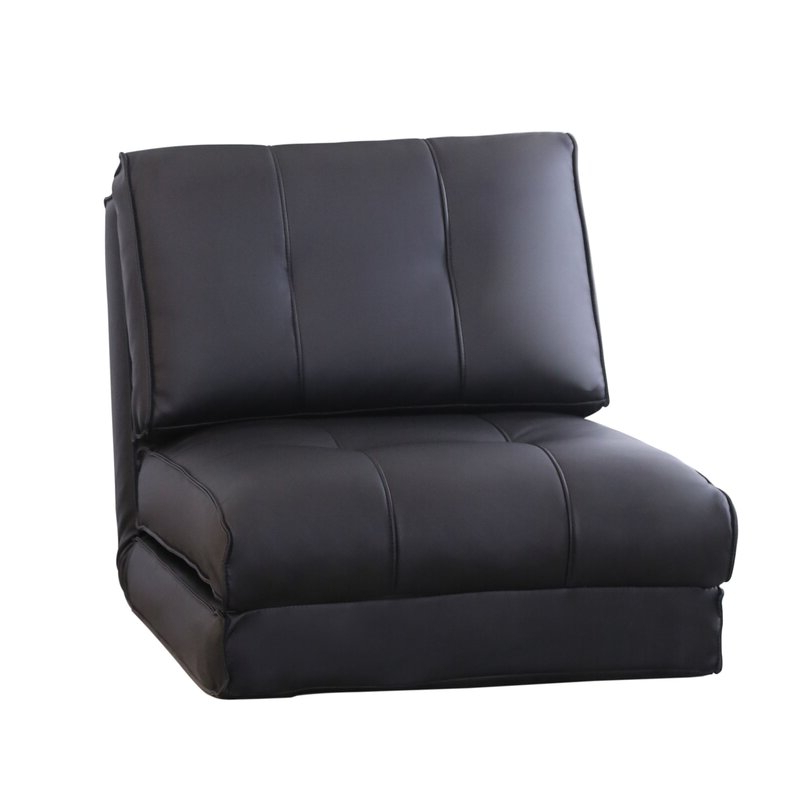 Best And Newest Onderdonk Faux Leather Convertible Chairs Regarding 8 Best Sleeper Chairs (View 8 of 30)