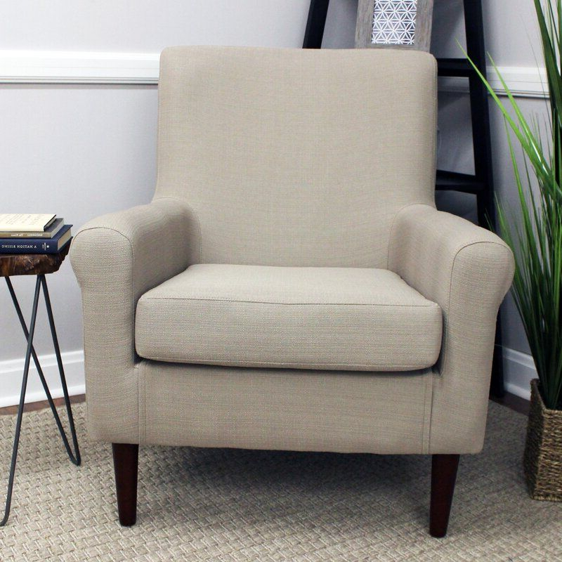 """Best And Newest Ronald Polyester Blend Armchairs Pertaining To Ronald 28"""" W Polyester Blend Armchair (View 16 of 30)"""
