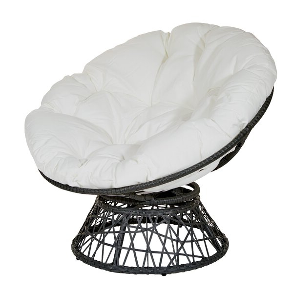 Best And Newest Rosati Mongolian Fur Papasan Chairs With Regard To White Papasan Chair (View 11 of 30)