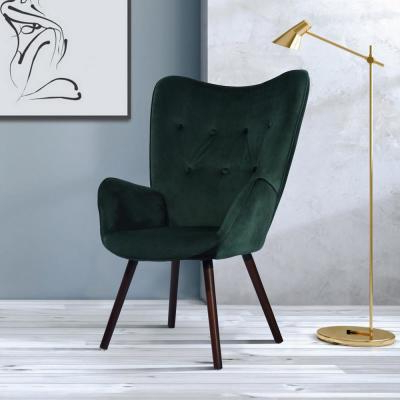 Best And Newest Velvet – Accent Chairs – Chairs – The Home Depot With Regard To Ziaa Armchairs (set Of 2) (View 22 of 30)
