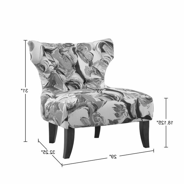 Best And Newest Waterton Wingback Chair With Waterton Wingback Chairs (View 5 of 30)