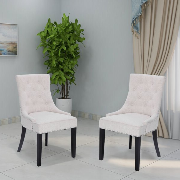 Bethine Polyester Armchairs (set Of 2) Inside Latest Kensington Hill Chairs (View 16 of 30)