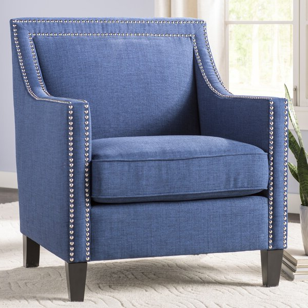 Bethine Polyester Armchairs (set Of 2) Regarding Well Known Rotterdam Studded Arm Chair (View 6 of 30)