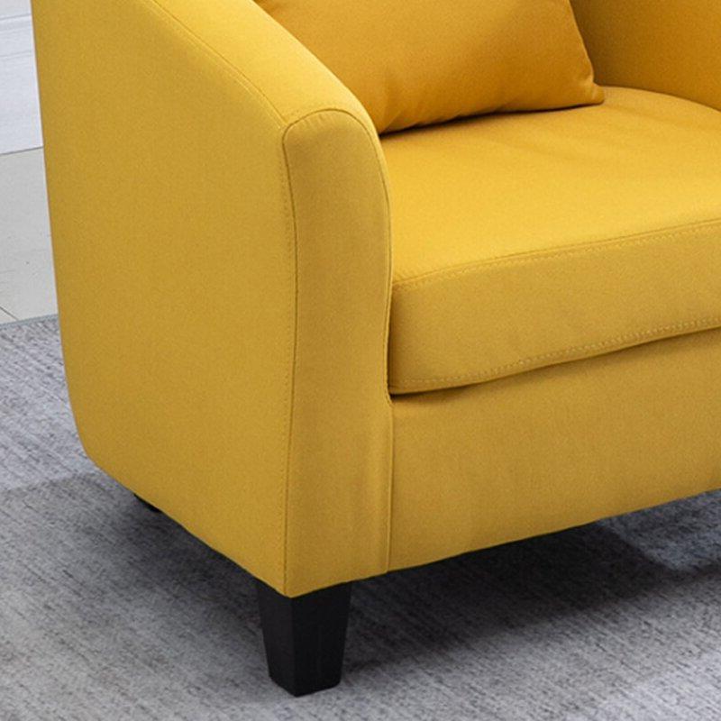 Blaithin Simple Single Barrel Chair Regarding Popular Blaithin Simple Single Barrel Chairs (View 4 of 30)