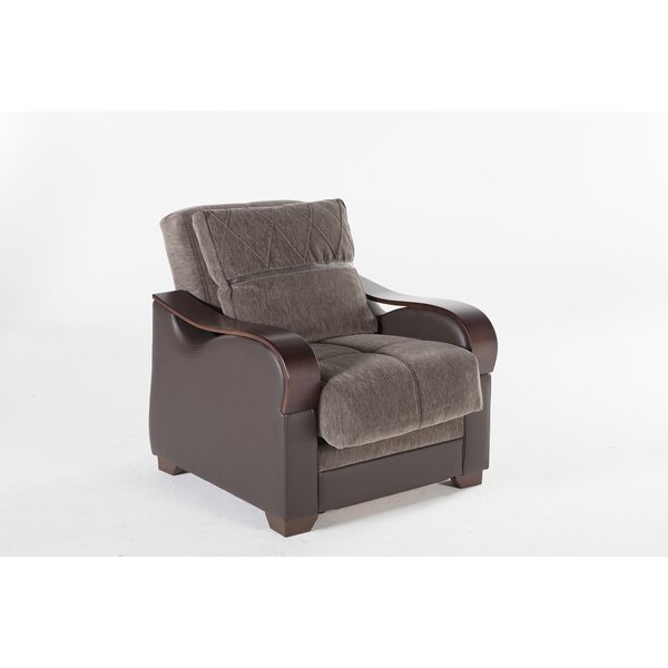 Blaithin Simple Single Barrel Chairs With Regard To Recent Dougie Convertible Chair (View 15 of 30)