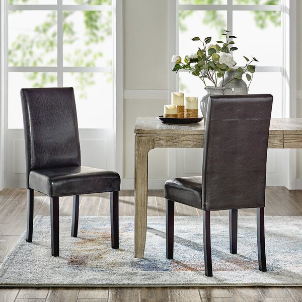 Bob Stripe Upholstered Dining Chairs (set Of 2) Inside Fashionable Barrel Dining Chair (View 7 of 30)