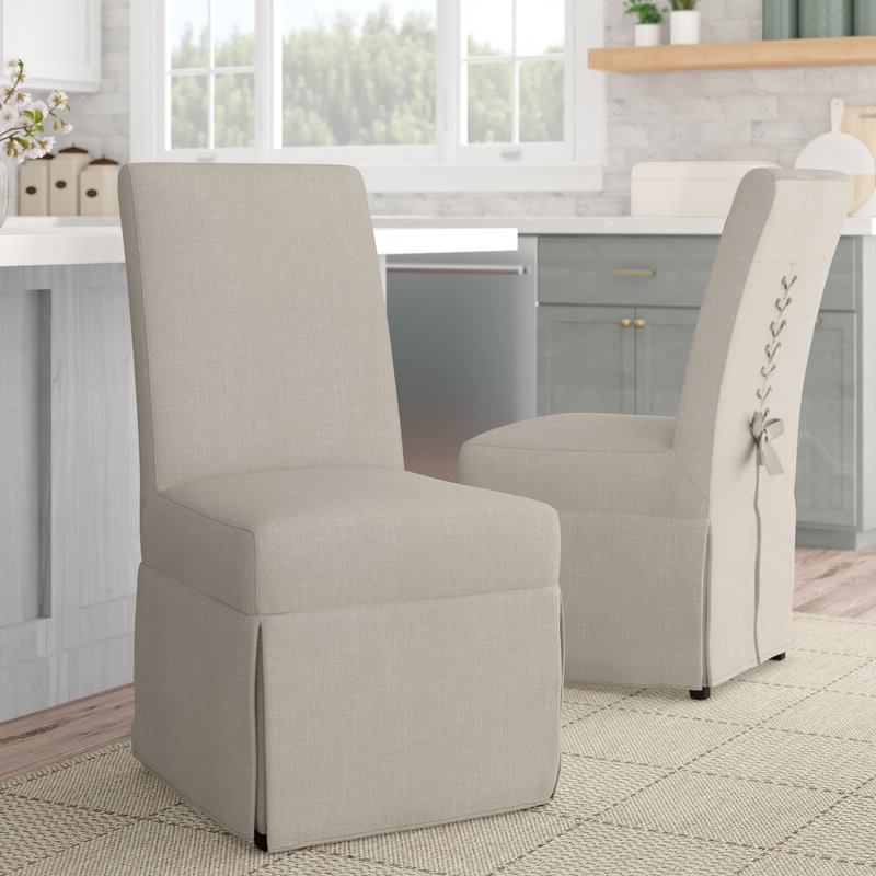 Bob Stripe Upholstered Dining Chairs (set Of 2) Pertaining To Recent Kesha Upholstered Dining Chair (View 19 of 30)