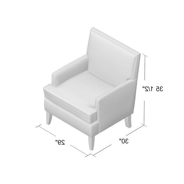 "Borst Armchairs Intended For 2020 Borst 29"" Armchair (View 10 of 30)"