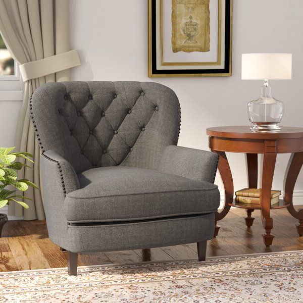 Bouck 21'' Wingback Chair – Vozeli With Regard To Trendy Bouck Wingback Chairs (View 26 of 30)