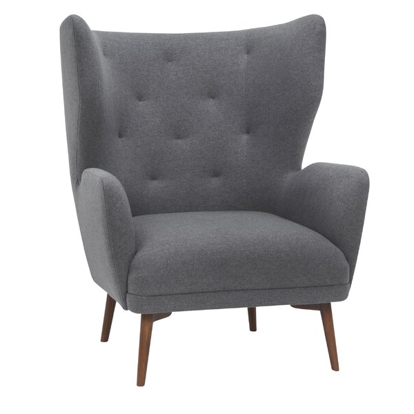 Bouck Wingback Chairs With Regard To 2020 Modern & Contemporary Tall Wingback Chair (View 21 of 30)