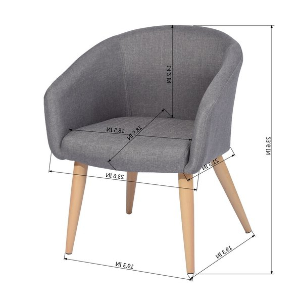 Boyden Armchairs For Preferred Boyden Armchair (View 6 of 30)