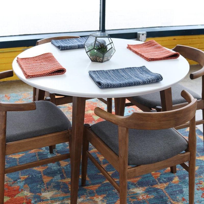 Boyden Armchairs Regarding Widely Used Keown Solid Wood Dining Table (View 28 of 30)