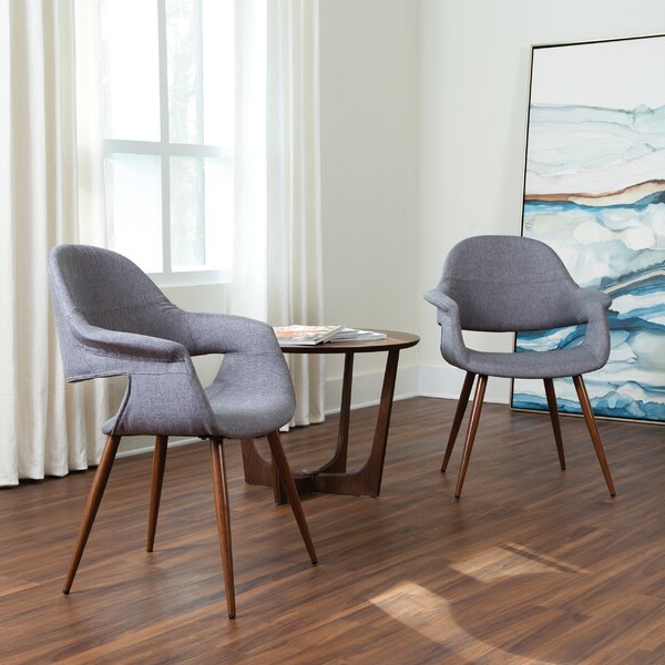 Brames Barrel Chair And Ottoman Sets Regarding Latest Accent Chairs 2 Pack (View 21 of 30)