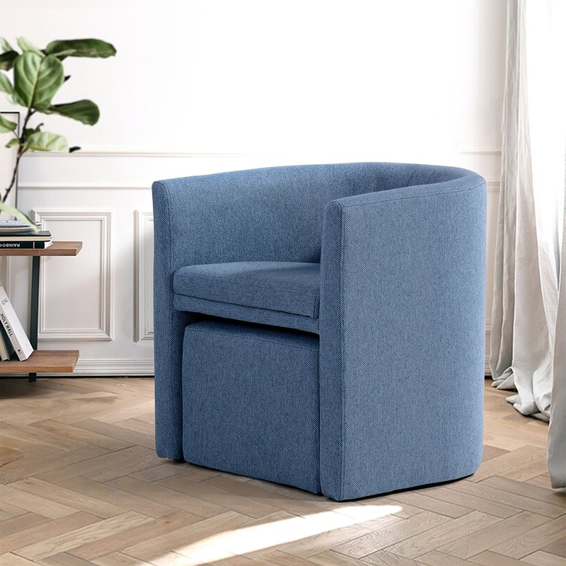 Briseno Barrel Chairs Regarding Most Up To Date Ansis Barrel Chair And Ottoman (View 12 of 30)