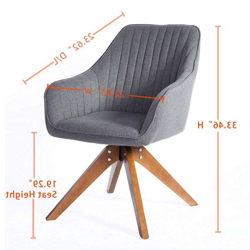 Brister Swivel Side Chair With Most Recent Brister Swivel Side Chairs (View 10 of 30)