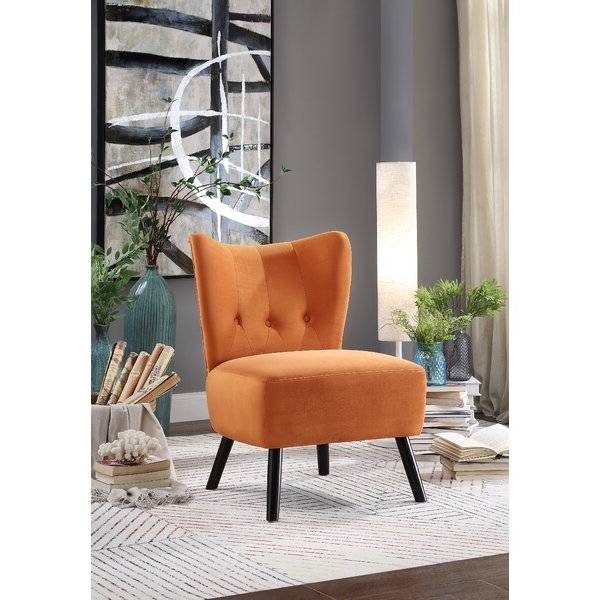 Burnt Orange Slipper Chair With Best And Newest Aniruddha Slipper Chairs (View 27 of 30)