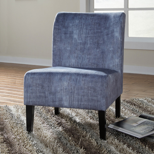 Caldwell Armchairs For Current Washed Denim Caldwell Accent Chair (View 13 of 30)