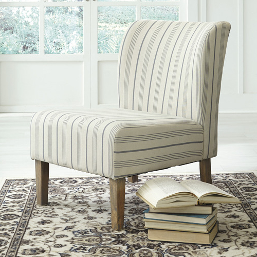 Caldwell Armchairs Regarding Preferred Striped Caldwell Accent Chair (View 10 of 30)