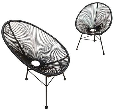 Campton Papasan Chairs Inside Fashionable Travers Papasan Chair Fabric: Black, Leg Color: Black (View 26 of 30)