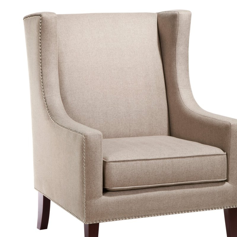 Chagnon Wingback Chair In Most Recently Released Chagnon Wingback Chairs (View 9 of 30)