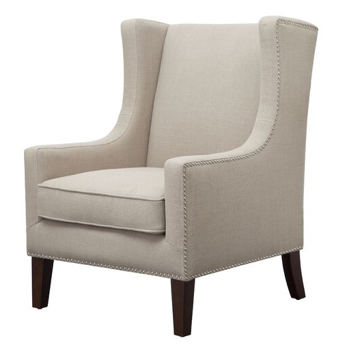 Chagnon Wingback Chair – Wayfair Intended For Well Liked Chagnon Wingback Chairs (View 18 of 30)