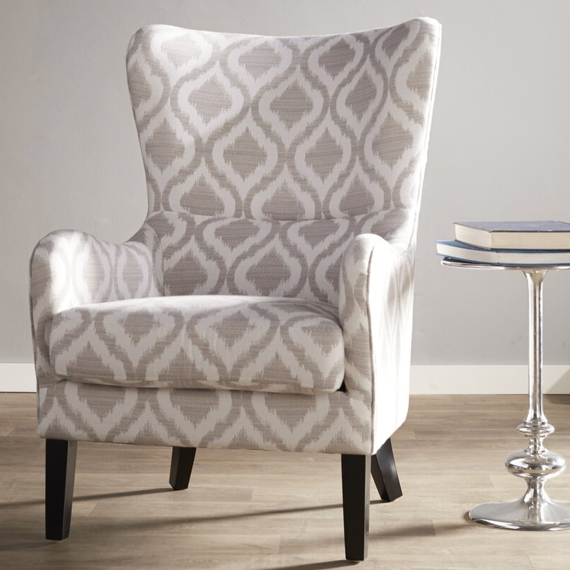 Chagnon Wingback Chairs In Most Recently Released Elmer Wingback Chair (View 21 of 30)