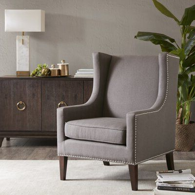 Chagnon Wingback Chairs Regarding 2020 Product Chagnon Wingback Chair (View 10 of 30)