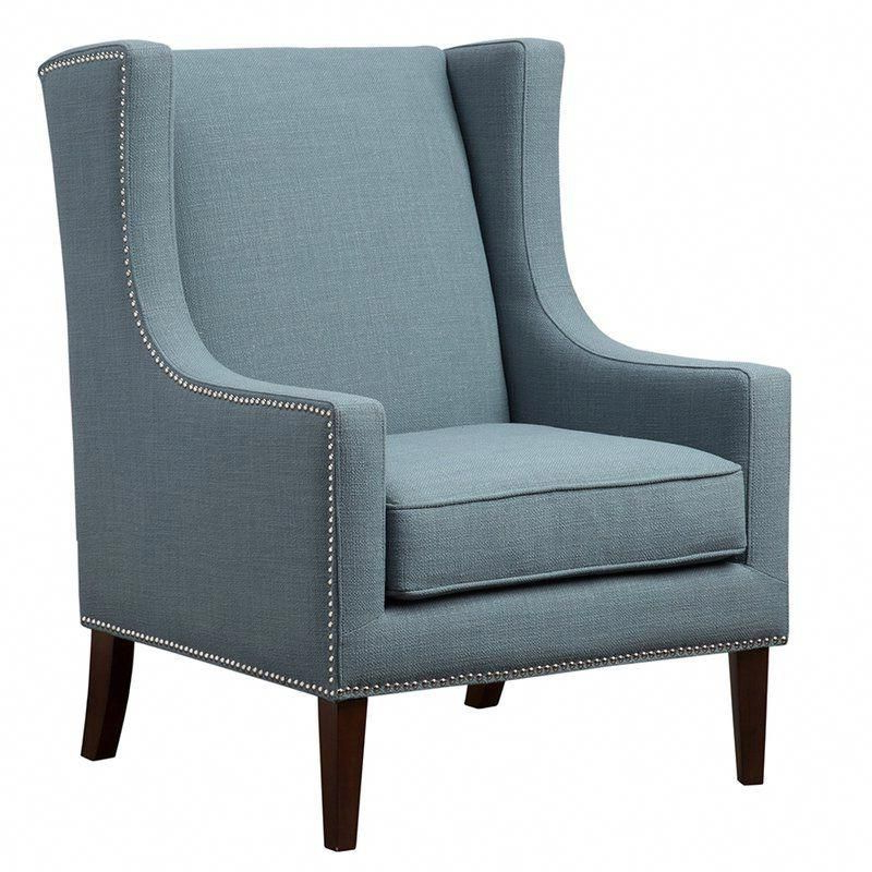 Chagnon Wingback Chairs Regarding Famous Chagnon Wingback Chair In (View 4 of 30)
