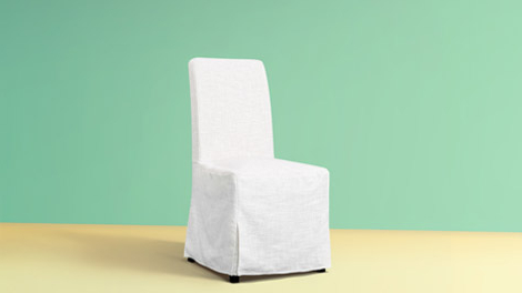 Chiles Linen Side Chairs In Popular Custom Dining Chair Slipcovers – Get A Classic Or Modern (View 27 of 30)