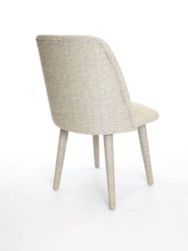 Chiles Linen Side Chairs Inside Most Recently Released Victoria Chair – The Rug Collection (View 9 of 30)