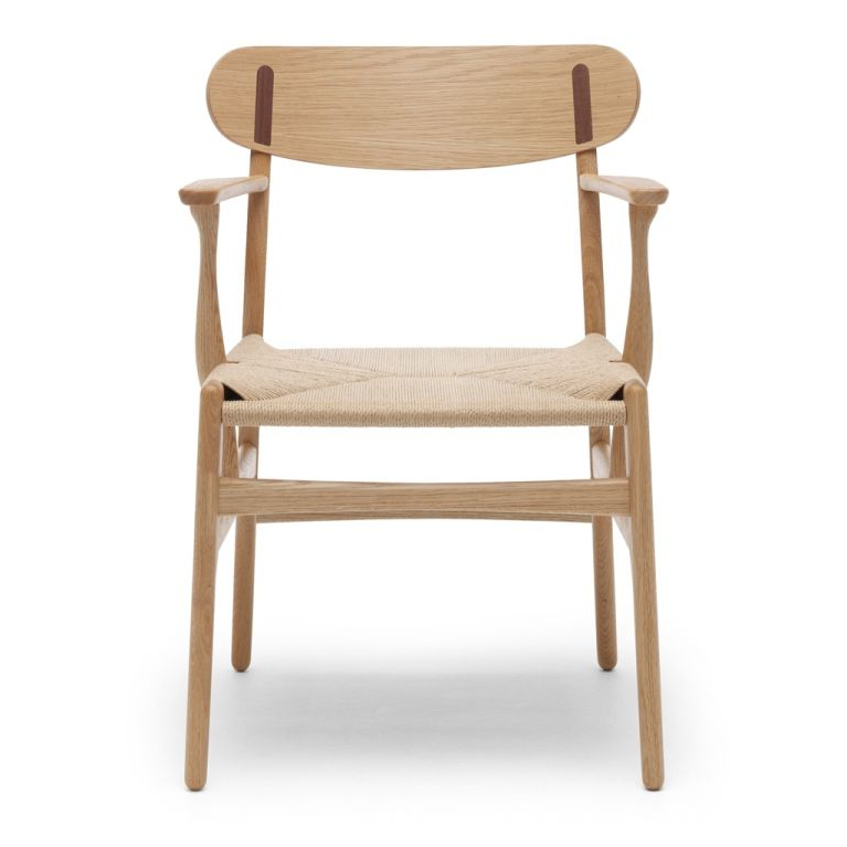 Chiles Linen Side Chairs Pertaining To Best And Newest Ch26 Chair (View 25 of 30)