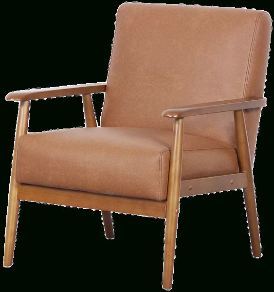 Cognac Polyester Blend With Polyester Blend Armchairs (View 19 of 30)