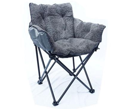 College Cushion Chair – Ultra Plush Dark Gray (View 23 of 30)