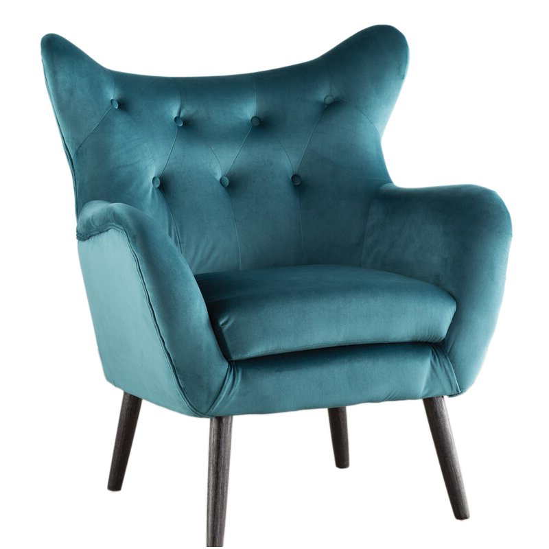 Colletta 21'' Wingback Chair Within Best And Newest Bouck Wingback Chairs (View 2 of 30)