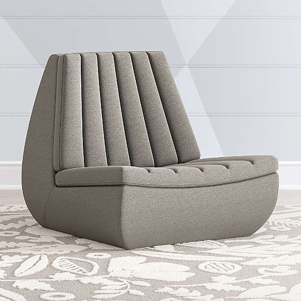 Crate And Barrel Throughout 2019 Hazley Faux Leather Swivel Barrel Chairs (View 28 of 30)